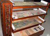 絹絲布印刷畫