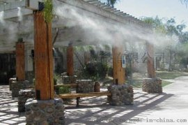 铁皮厂房喷雾降温|养猪场降温消毒|园林景观人造雾机