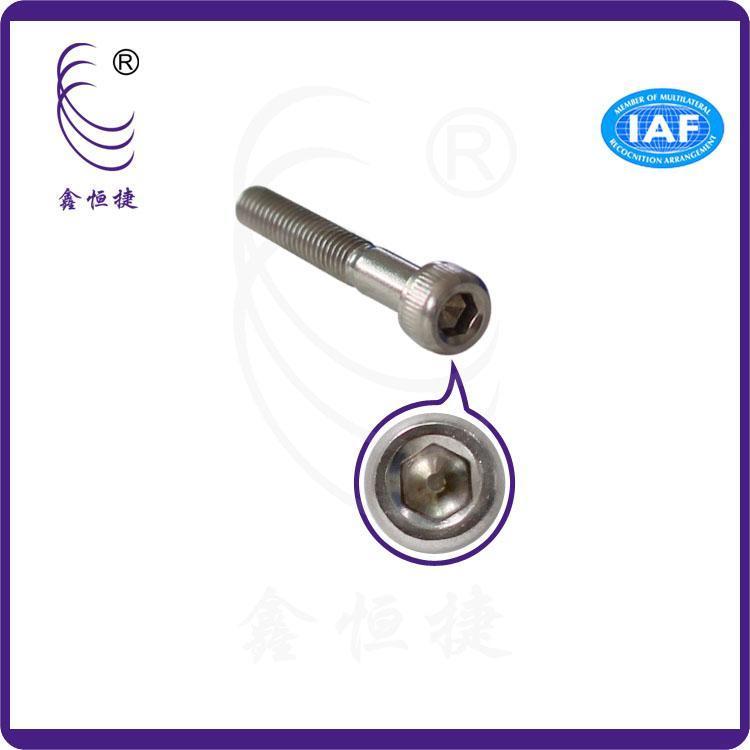 厂家热推生产供应销售产品 304不锈钢束杆内六角螺丝 M4 电机电子标准六角螺丝