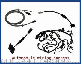 江苏汽车倒车雷达影像车载摄像头线束,祥龙嘉业专业设计制造
