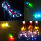 七彩閃光鞋燈鞋飾
