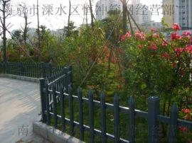 南京 道路隔离景观护栏花箱 pvc微发泡花箱 花箱护栏
