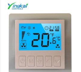 郢凯 新型二线 液晶 中央空调 风机盘管 控温器 温度控制器
