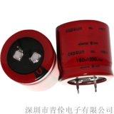 供應 160V1200UF牛角電解電容 佛山電解電容