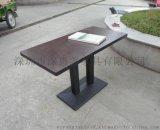 咖啡厅个性餐桌餐厅高档木质餐桌优质精品餐桌