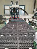 做板式家具比上下料更有优势的双工位四工序开料机