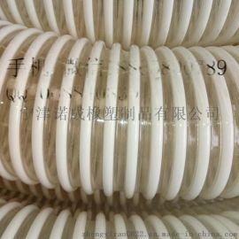 山东耐高温除尘用PU钢丝伸缩管软管厂家价格