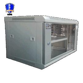 防盾6U网络机柜,挂壁式机柜