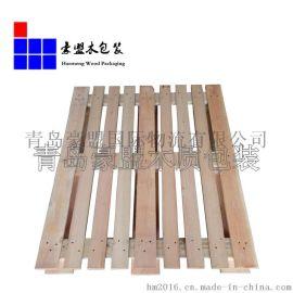 厂家直销胶州市出口运输木托盘 欧标松木托盘专业定做量大价优