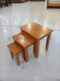 廠家直銷HT812水曲柳全原木凳
