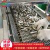 管件超聲波除油清洗機 網帶式管件清洗烘幹流水線設備