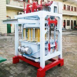 水泥免烧六角护坡免烧砖机液压自动空芯砖机 全自动切块砖机