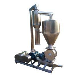 罗茨风机粉料吸粮机不锈钢风力气力输送机脉冲除尘系统