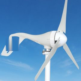 小型永磁风力发电机400w48v路灯风光互补系统家用风力发电系统