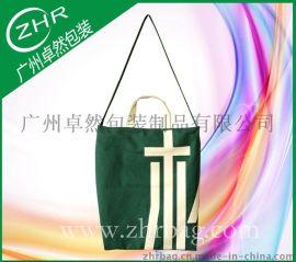 厂家定做单肩帆布袋 绿色环保袋全棉帆布袋