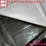 东莞供应0.2mm强粘黑色PE泡棉(带PET膜)单面工业产品胶带1030mm*50m