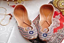 印度特色手工鞋