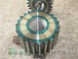 滚齿机加工2.0x22米单筒冷却机小齿轮