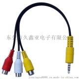 AV对3RCA立体声音频线