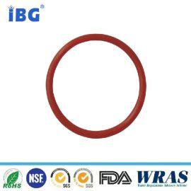 红色硅胶O型圈  耐高温橡胶密封圈