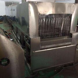 广州塑料筐喷淋清洗机|周转筐喷淋除油清洗机