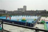 河北邢台移动式支架水池游泳池厂家供应