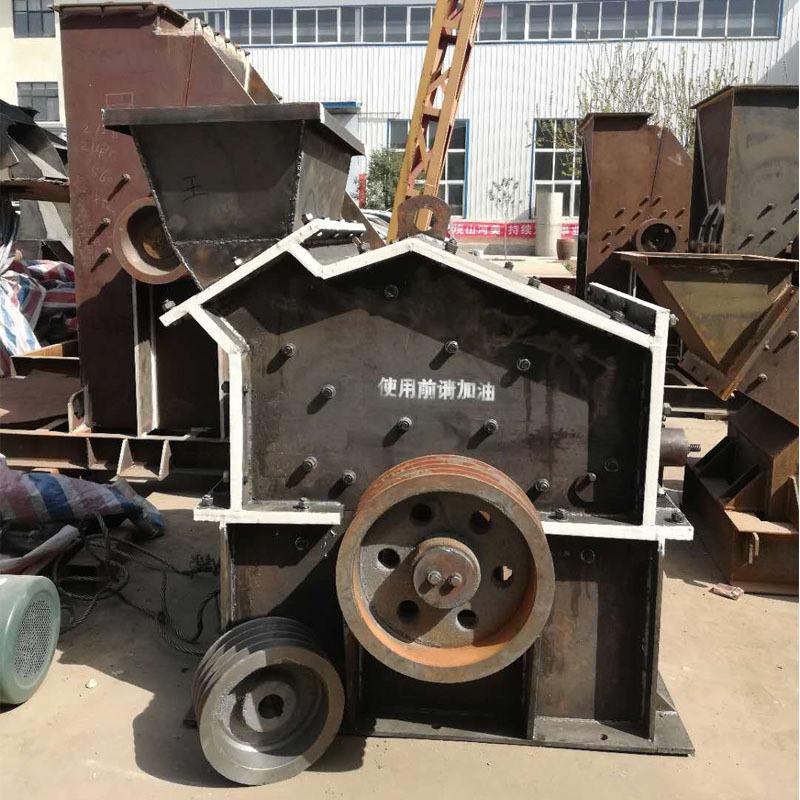 立式石头制砂机 移动式数控石英砂制砂机 对辊制砂机