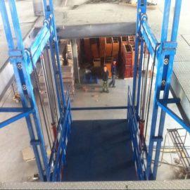 导轨式升降机液压升降平台车升降货梯小型货梯小型升降机升降平台