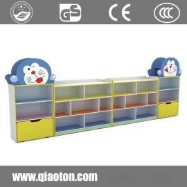 幼儿园柜子书包柜卡通彩色玩具柜儿童储物柜鞋柜