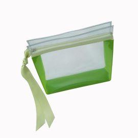 厂家定制透明PVC化妆品袋塑料洗漱拉链袋广告防水化妆包袋