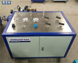 便攜式LNG氣瓶安全閥校驗臺 壓力表檢測工作臺 安全閥校驗臺廠家