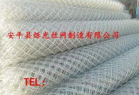 热镀锌勾编护坡网 热镀锌勾花网现货处理