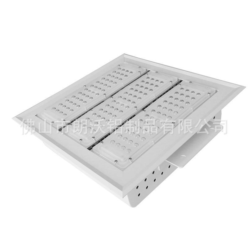 150w嵌入式LED油站燈外殼和加油站燈模組套件