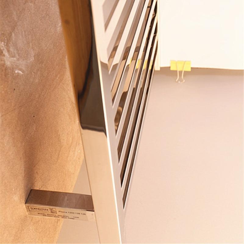 不锈钢方管加热浴巾架 工程酒店别墅配套电热毛巾架