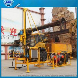 螺杆空压机山地钻机  HW-30型石油物探钻机