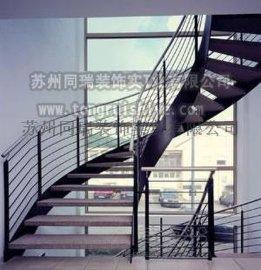 同瑞供应工业风格旋转楼梯一站式定制 工厂直销
