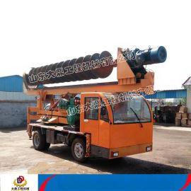 各种规格建筑打桩机 长螺旋建筑工程打桩机 车载式建筑工程打桩机