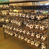 订制PU足球玩具热销20cm圆形足球带皮海绵球