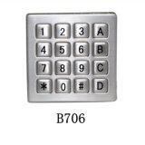 信沃快递货柜 数控机床 安防门禁 不锈钢小键盘