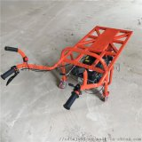 工厂运输平板小推车   燃油助力独轮车图片