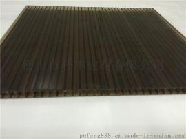 12mm茶色陽光板,全新料加UV陽光板