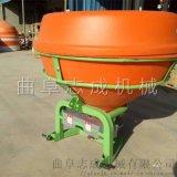 志成拖拉机后置施肥机家用化肥自动抛撒机