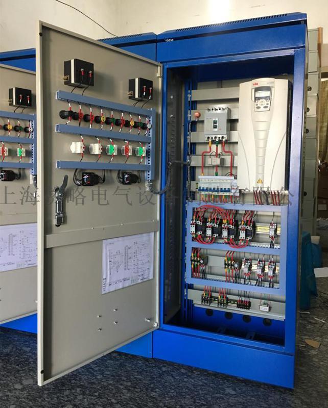 供應上海低壓控制櫃, 變頻控制櫃15kw一一拖二變頻控制箱