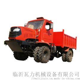 农用四驱折腰转向运输型拖拉机 棕榈**