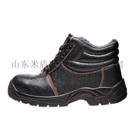 高帮防砸防穿刺安全鞋男女冬季工作鞋劳保棉鞋2805