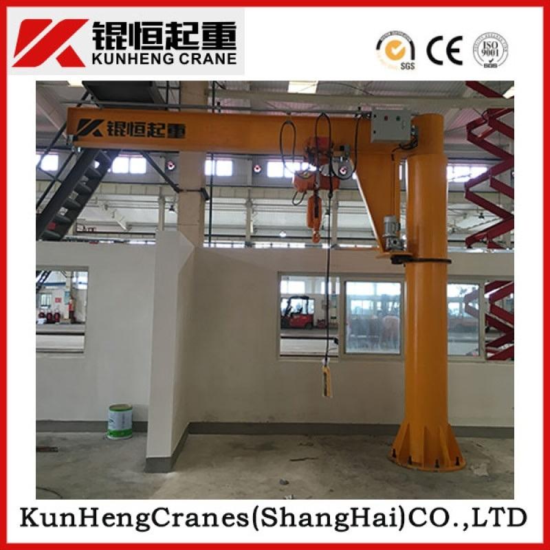 苏州昆山旋臂吊2T固定式悬臂吊柱式旋臂起重机