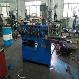 金属板材自动卷圆机 卡簧打圈机 打圈对焊一体机