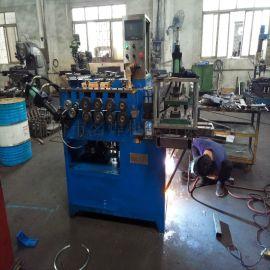 江门1-6mm铁线铁丝自动卷圆机 钢丝打圈机