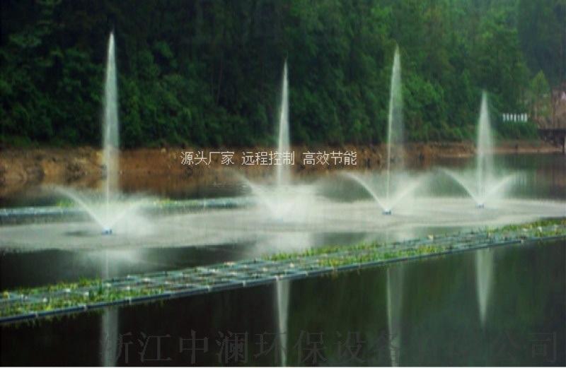 浙**中澜ZL-CFA中心水柱喷泉曝气机