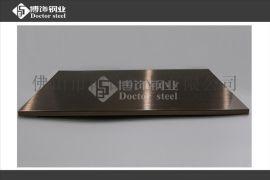 不锈钢镀铜板,不锈钢镀红古铜拉丝亮光,不锈钢拉丝